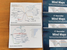 Load image into Gallery viewer, IT Recruiter Mind Maps | Set Of Four Printed Booklets