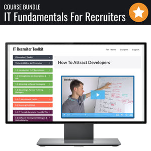 Ultimate Course Bundle - IT Fundamentals For Recruiters