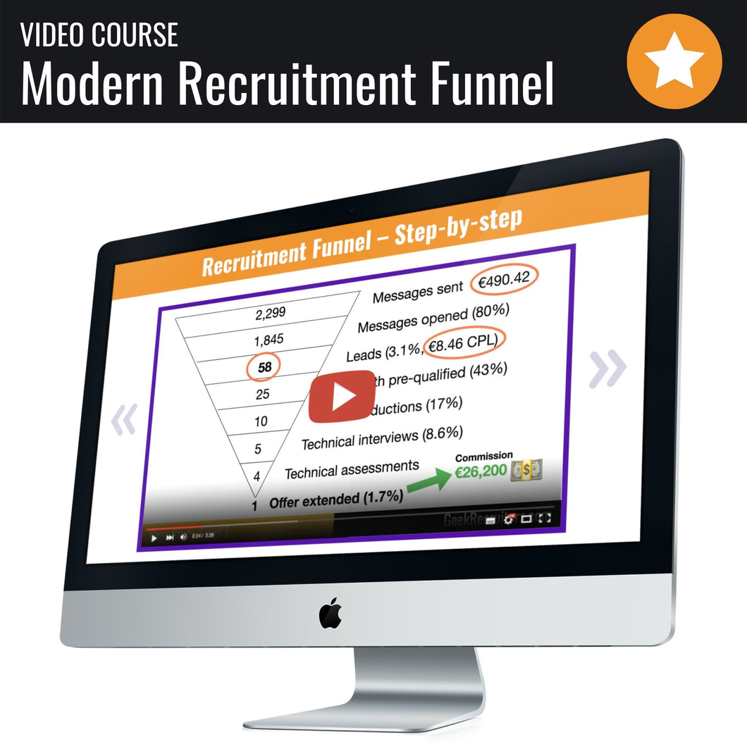 Modern IT Recruitment Step-By-Step (Course)