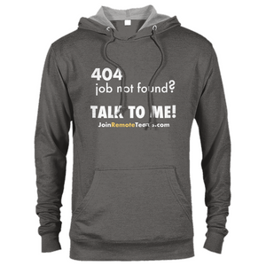 Job Not Found? Talk To Me - Premium Unisex Pullover Hoodie