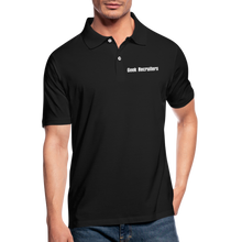 Load image into Gallery viewer, Geek Recruiters | Men's Polo Shirt Slim - black