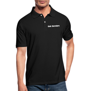 Geek Recruiters | Men's Polo Shirt Slim - black