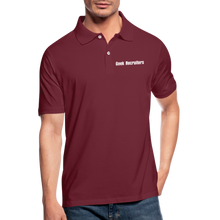 Load image into Gallery viewer, Geek Recruiters | Men's Polo Shirt Slim - bordeaux