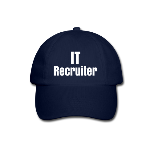 IT Recruiter - Baseball Cap - blue/blue
