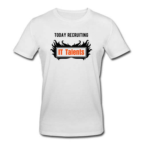 Today Recruiting | Men's Organic T-Shirt - white