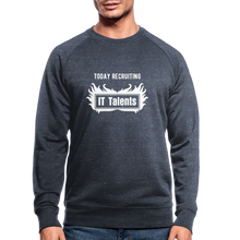 Load image into Gallery viewer, Today Recruiting | Men's Organic Sweatshirt by Stanley & Stella - heather navy
