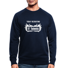 Load image into Gallery viewer, Today Recruiting | Men's Organic Sweatshirt by Stanley & Stella - navy