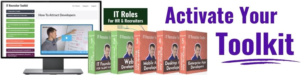 Banner: Activate your IT Recruiter Toolkit