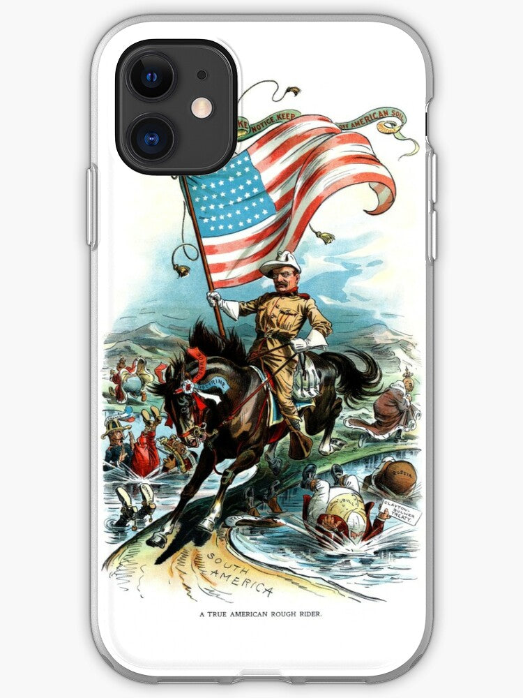 1902 Rough Rider Teddy Roosevelt iPhone 11 case