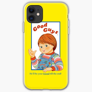 1997 Neon Rainbow Evil Murder Good Guy Doll iphone 11 case
