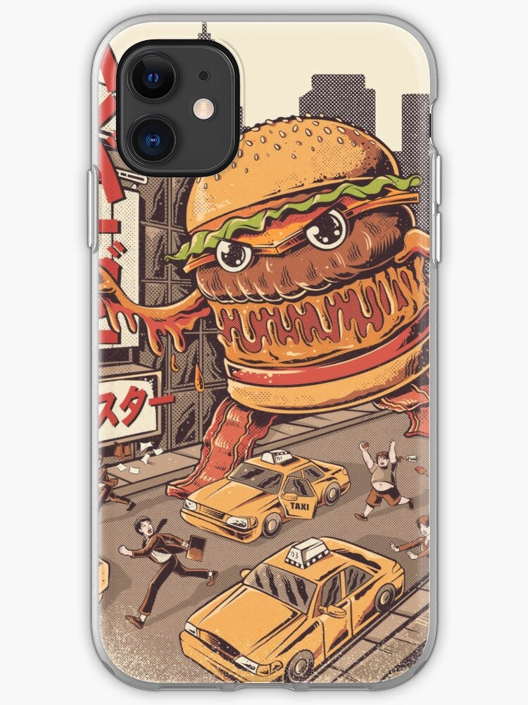 BurgerZilla iPhone 11 case