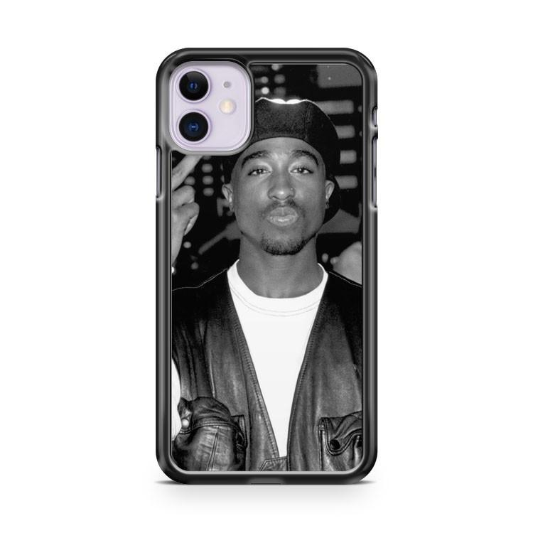 2Pac Tupac Shakur iphone 5/6/7/8/X/XS/XR/11 pro case cover