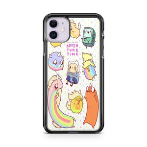 Adventure Time Chibi iphone 5/6/7/8/X/XS/XR/11 pro case cover