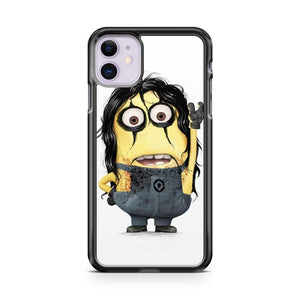 Alice Cooper Rock Minion iphone 5/6/7/8/X/XS/XR/11 pro case cover