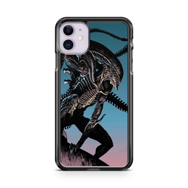 Alien Movie Creature Predator Art iphone 5/6/7/8/X/XS/XR/11 pro case cover