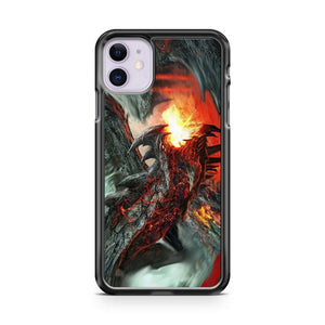 Amazing Dragon Fire iphone 5/6/7/8/X/XS/XR/11 pro case cover