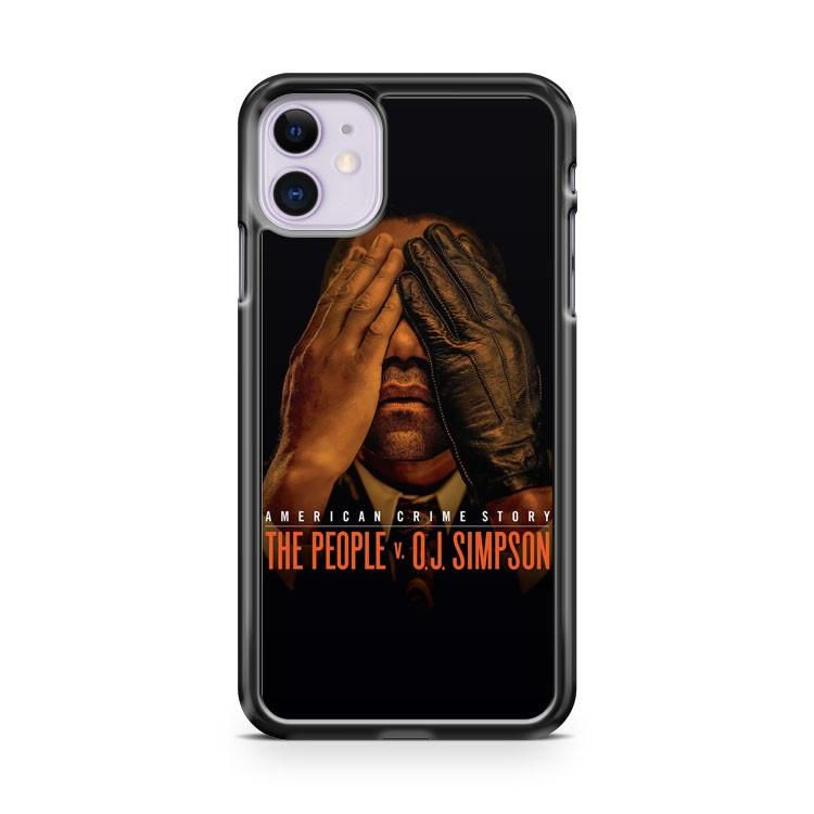 American Crime Story The People V vs OJ Simpson iphone 5/6/7/8/X/XS/XR/11 pro case cover