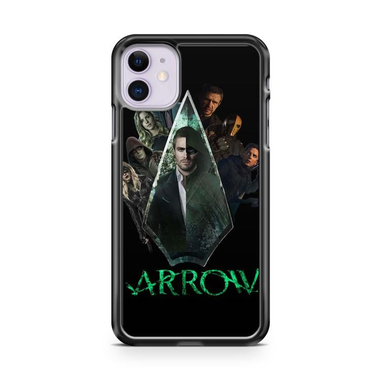 ARROW TV SERIES CHARACTERS iphone 5/6/7/8/X/XS/XR/11 pro case cover