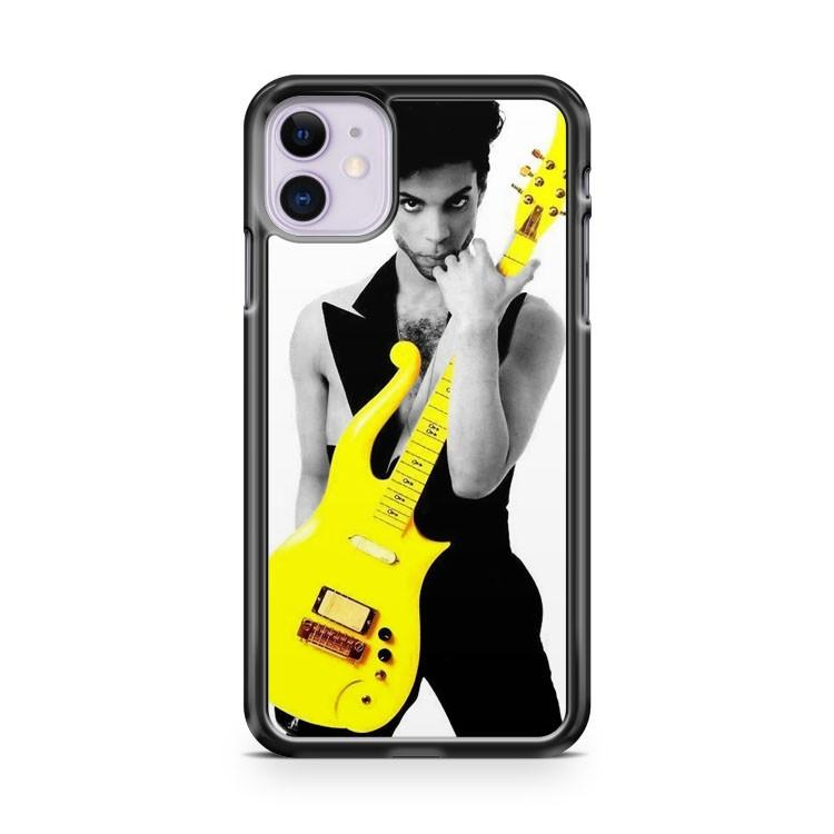 Prince Rock Yellow Cloud Guitar iphone 5/6/7/8/X/XS/XR/11 pro case cover