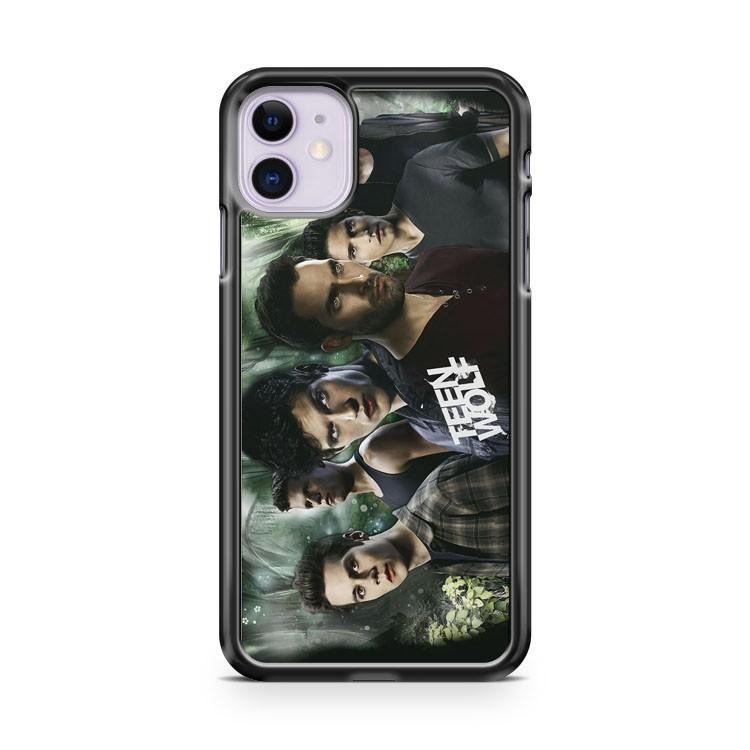 Teen Wolf and Galaxy iphone 5/6/7/8/X/XS/XR/11 pro case cover