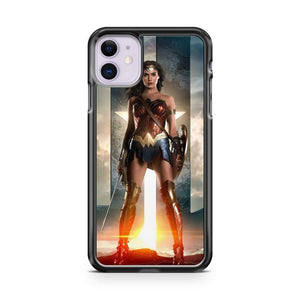 wonder woman warrior iphone 5/6/7/8/X/XS/XR/11 pro case cover