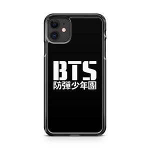BTS Bangtan Boys Logotext 4 4 iphone 5/6/7/8/X/XS/XR/11 pro case cover