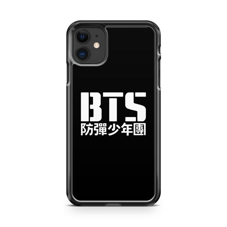 BTS Bangtan Boys Logotext 4 4 iphone 5/6/7/8/X/XS/XR/11 pro case cover - Goldufo Case