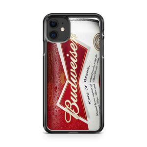 Budweiser Can King of Beer 3 iphone 5/6/7/8/X/XS/XR/11 pro case cover