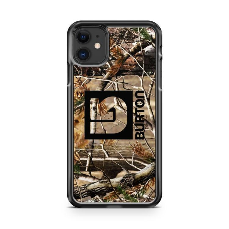 burton snowboard realtree 2 iphone 5/6/7/8/X/XS/XR/11 pro case cover - Goldufo Case