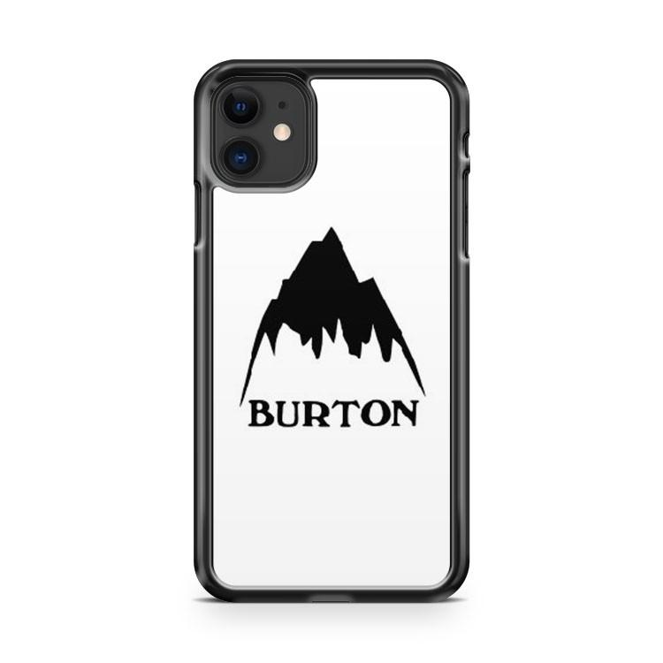 Burton snowboards logo iphone 5/6/7/8/X/XS/XR/11 pro case cover