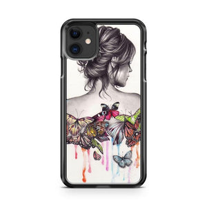 butterfly effect 2 iphone 5/6/7/8/X/XS/XR/11 pro case cover - Goldufo Case
