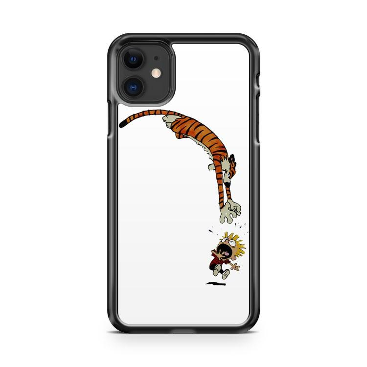 calvin hobbes 2 iphone 5/6/7/8/X/XS/XR/11 pro case cover