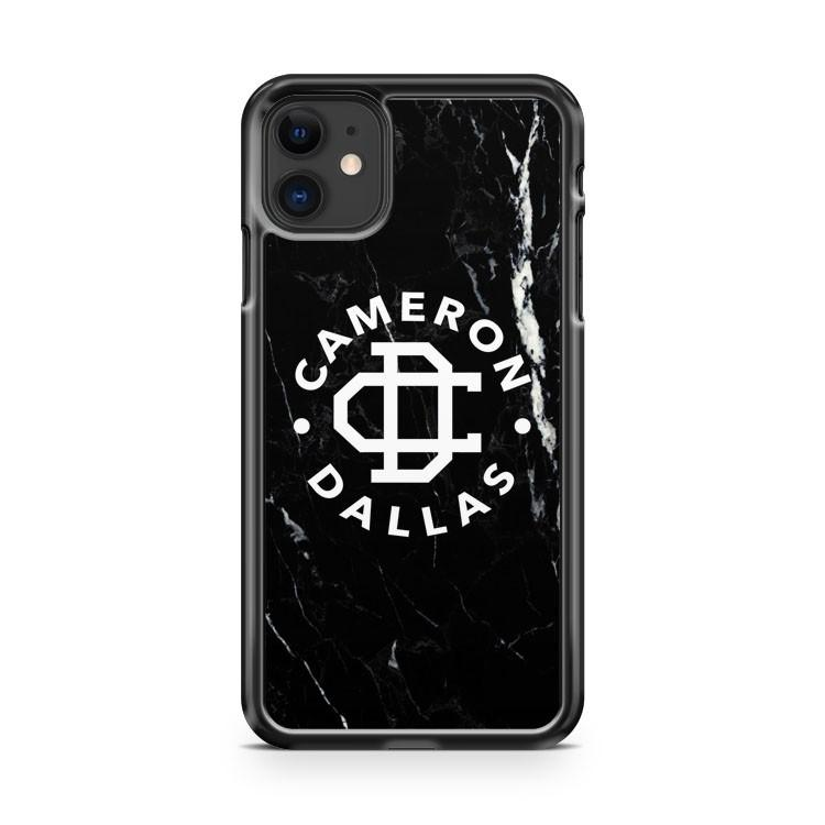 cameron dallas black marble 2 iphone 5/6/7/8/X/XS/XR/11 pro case cover