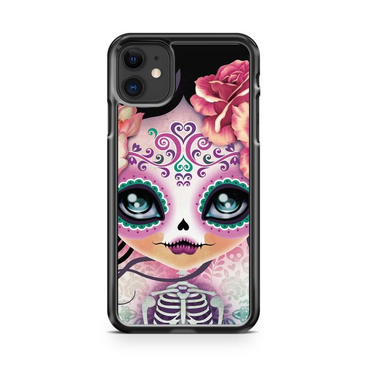 Camila Huesitos Sugar Skull 2 iphone 5/6/7/8/X/XS/XR/11 pro case cover