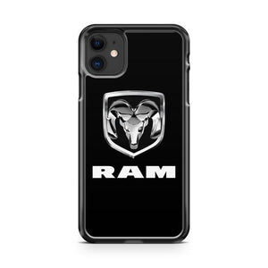 DODGE RAM 1500 Turbo iphone 5/6/7/8/X/XS/XR/11 pro case cover