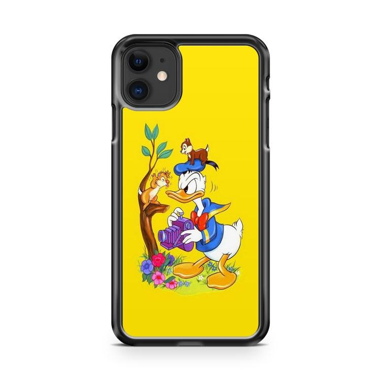 Donald Duck Keyhole iphone 5/6/7/8/X/XS/XR/11 pro case cover