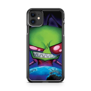 Invader Zim 5 iphone 5/6/7/8/X/XS/XR/11 pro case cover