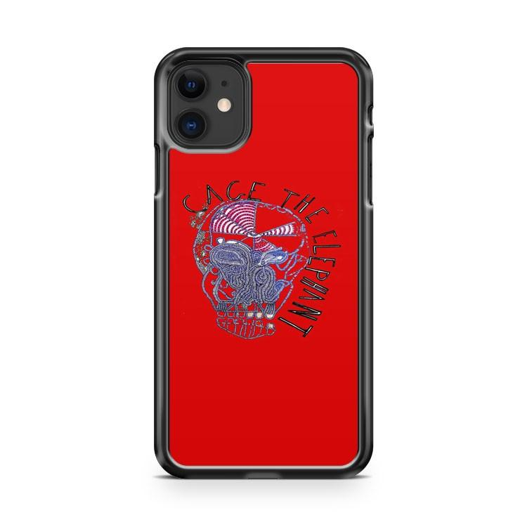 Cage The Elephant Album Logo Rock Band iphone 5/6/7/8/X/XS/XR/11 pro case cover