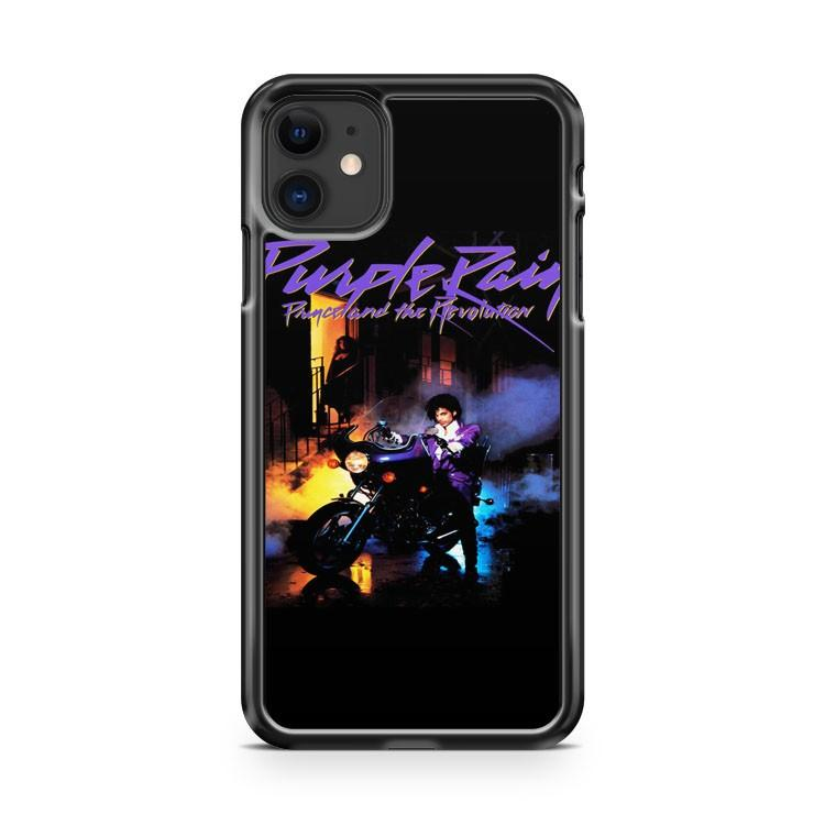 Purple Rain Prince Tour 84 85 iphone 5/6/7/8/X/XS/XR/11 pro case cover