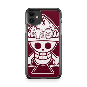 One Piece D Luffy iphone 5/6/7/8/X/XS/XR/11 pro case cover