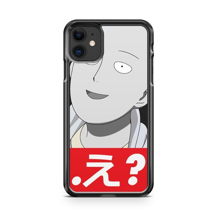 One Punch Man characters 2 iphone 5/6/7/8/X/XS/XR/11 pro case cover