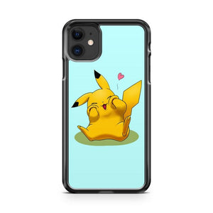Pokemon Pikachu 8 iphone 5/6/7/8/X/XS/XR/11 pro case cover