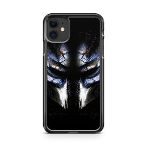 predator mask iphone 5/6/7/8/X/XS/XR/11 pro case cover