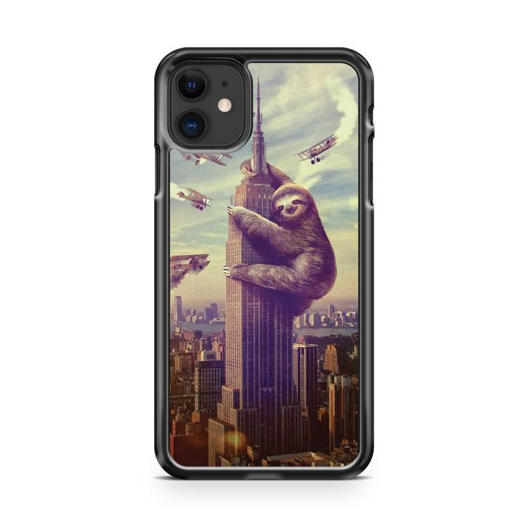 Sloth Friends iphone 5/6/7/8/X/XS/XR/11 pro case cover