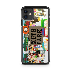 south park iphone 5/6/7/8/X/XS/XR/11 pro case cover