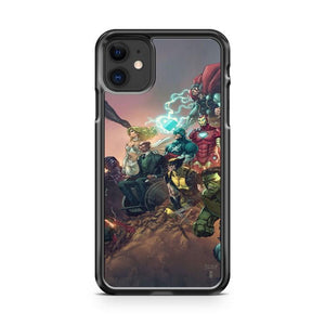 The Avengers 3 iphone 5/6/7/8/X/XS/XR/11 pro case cover