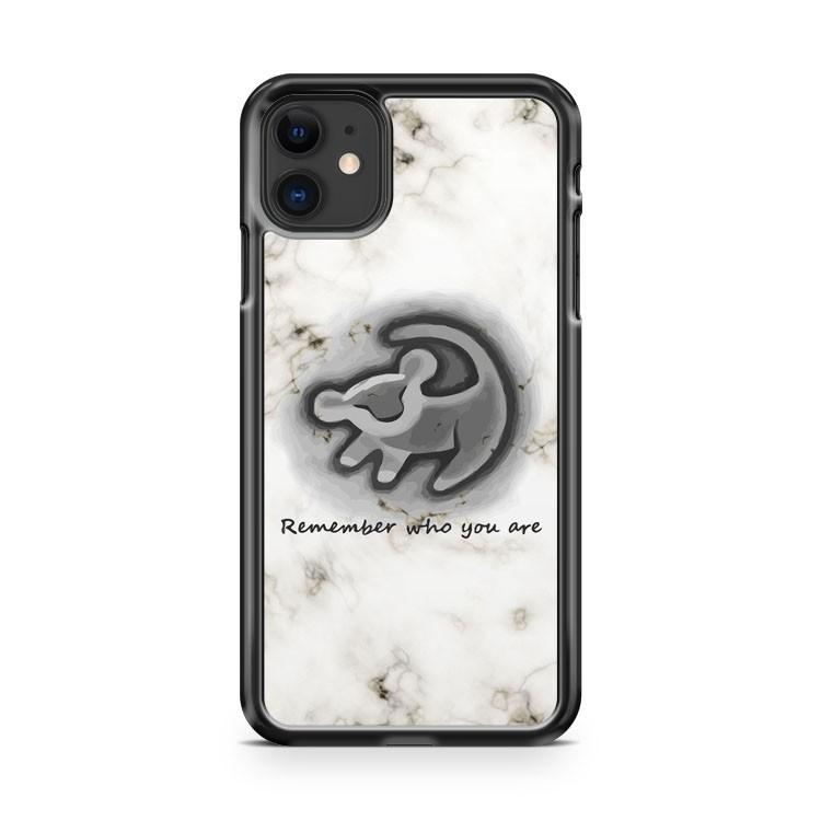 white marble lion king iphone 5/6/7/8/X/XS/XR/11 pro case cover