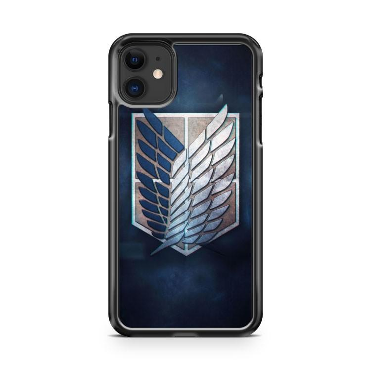 wings of freedom attack on titan41 iphone 5/6/7/8/X/XS/XR/11 pro case cover
