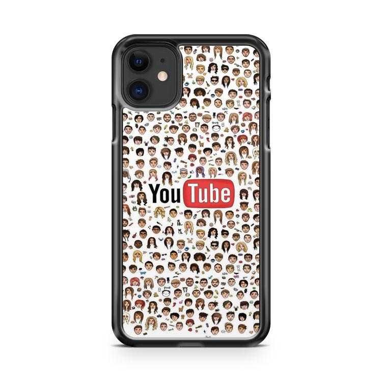 Youtubers Face Icon iphone 5/6/7/8/X/XS/XR/11 pro case cover