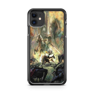 Zelda Character Design iphone 5/6/7/8/X/XS/XR/11 pro case cover